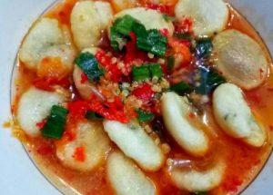 Resep Cireng Banyur Variasi Cireng Kuah Pedas