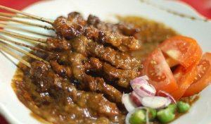 Resep Sate Kambing Madura Bakar Empuk Bumbu Kacang
